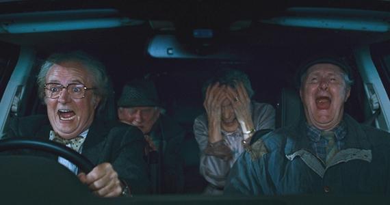 "Jim Broadbent, Timothy Cavendish en ""El horroroso calvario de Timothy Cavendish""."