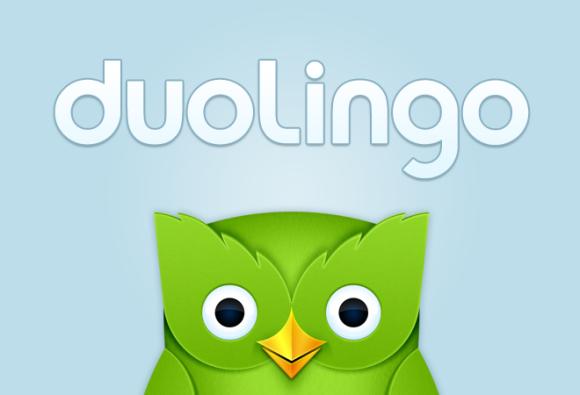 logo de duolingo.