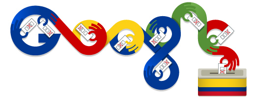 Google Doodle Colombia
