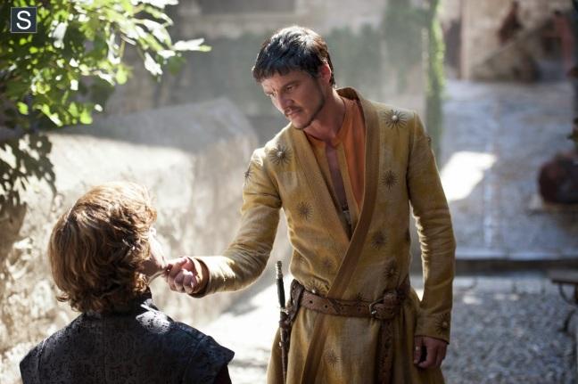 Pedro Pascal como Oberyn Martell.
