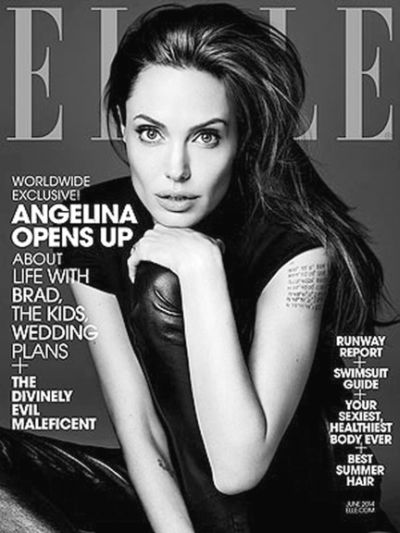 Angelina Jolie Cover