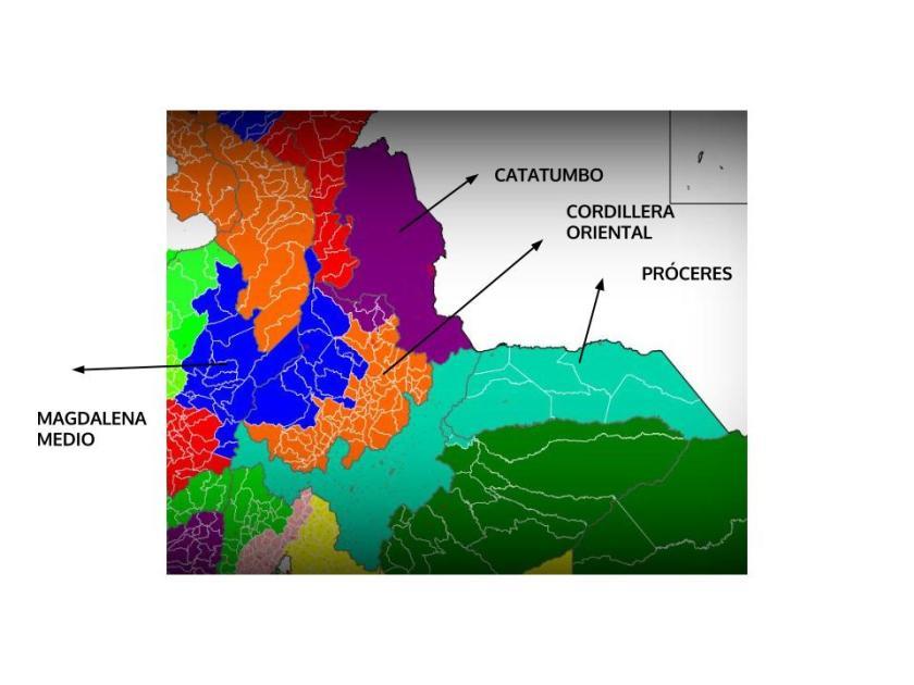 NORORIENTE COLOMBIA