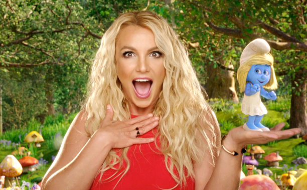 Ooh La La (From The Smurfs 2) -  Britney Spears (Screengrab)