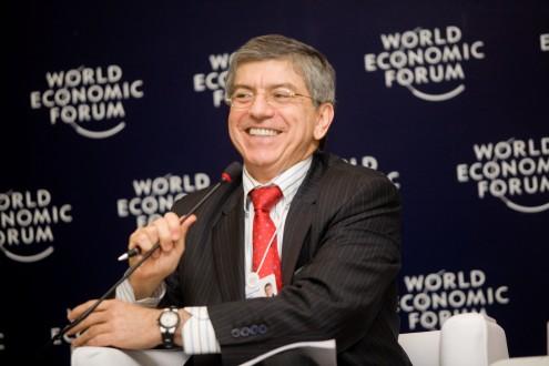 César Gaviria @Copyright  WEF, 2009