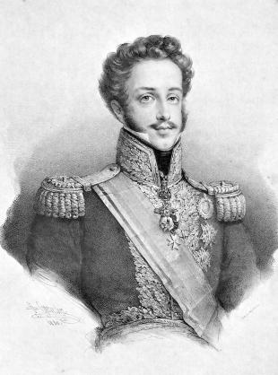 Pedro I de Brasil y IV de Portugal, cuya historia es la base de la trama del libro.