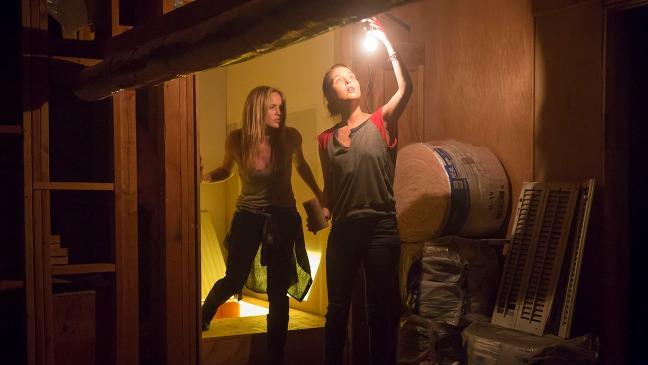 Camilla Ludington y Catie Lotz. Imagen de The Hollywood Reporter.