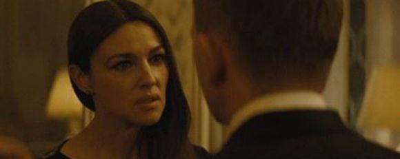 Mónica Bellucci, la única actuación decente de esta película.