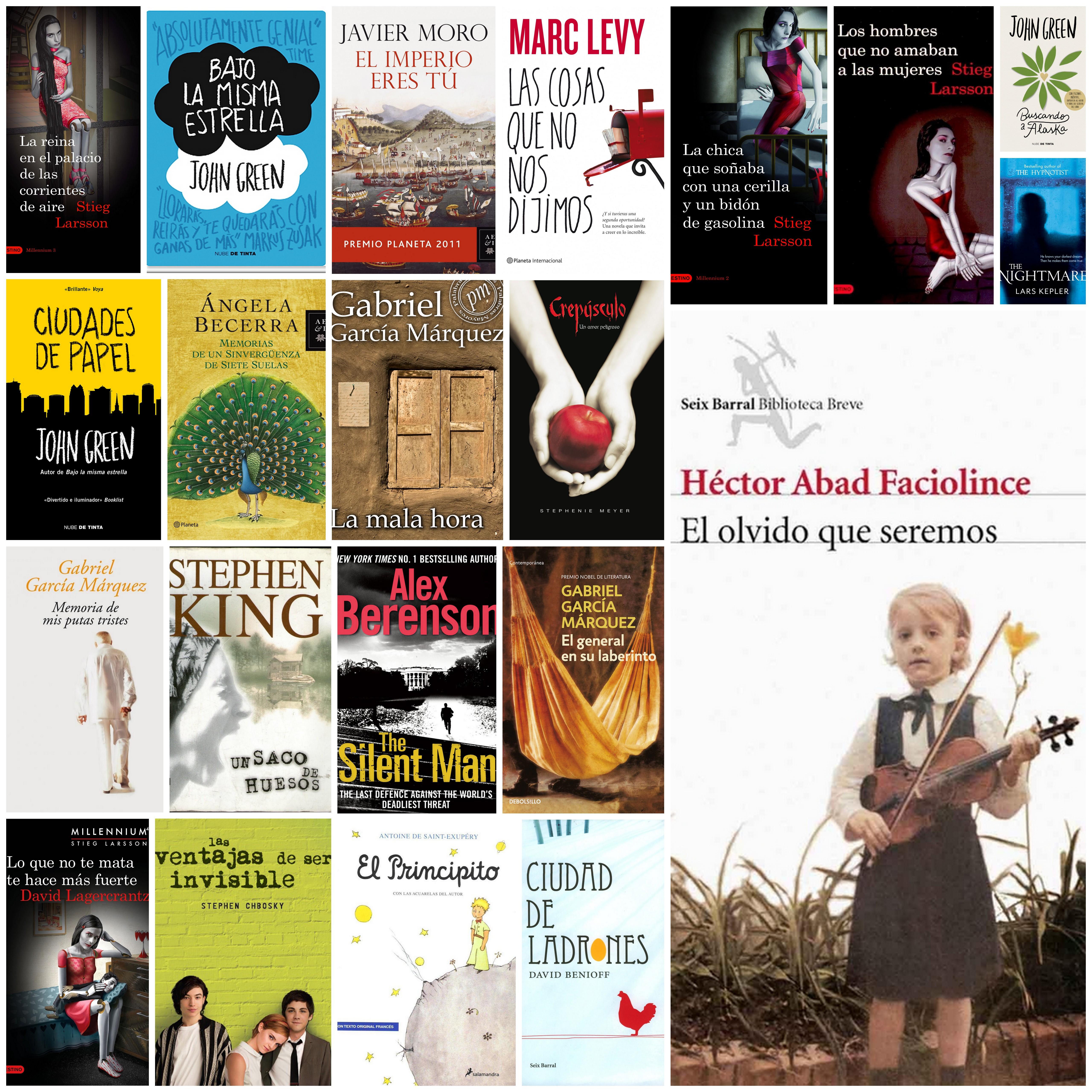Mi vuelta al 2015 en 21 libros y una ruta tentativa para - Lamparas para leer libros ...