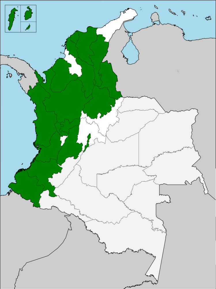 mapa nacional