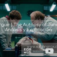 La Morgue | The Autopsy of Jane Doe ^ Análisis y Explicación.