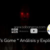 Gerald's Game ^ Análisis y Explicación