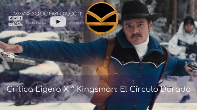 kingsman círculo dorado