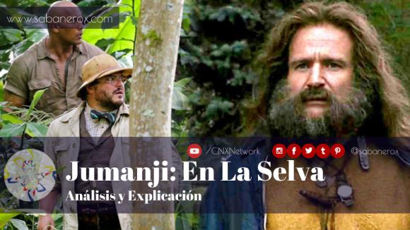 jumanji en la selva analisis y explicacion
