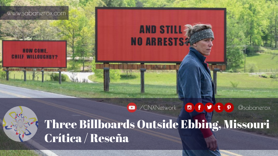 three billboards outside ebbing, missouri crítica reseña