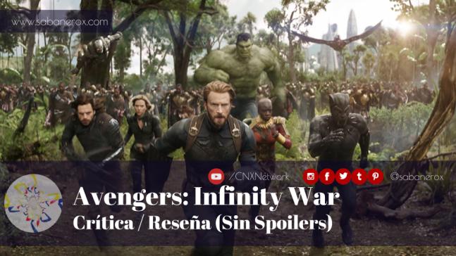 avengers infinity war critica reseña