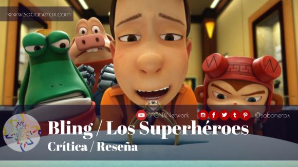 bling superheroes critica reseña