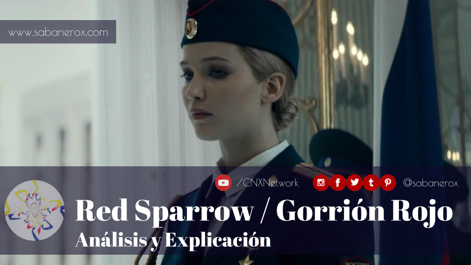 red sparrow gorrion rojo analisis explicacion